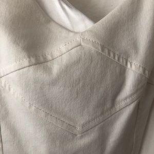 Tahari Dresses - TAHARI, ARTHUR LEVINE WHITE DRESS, SIZE 6